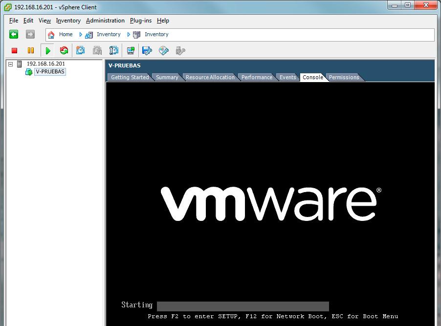 Como crear una máquina virtual en VMware ESXi 5.x