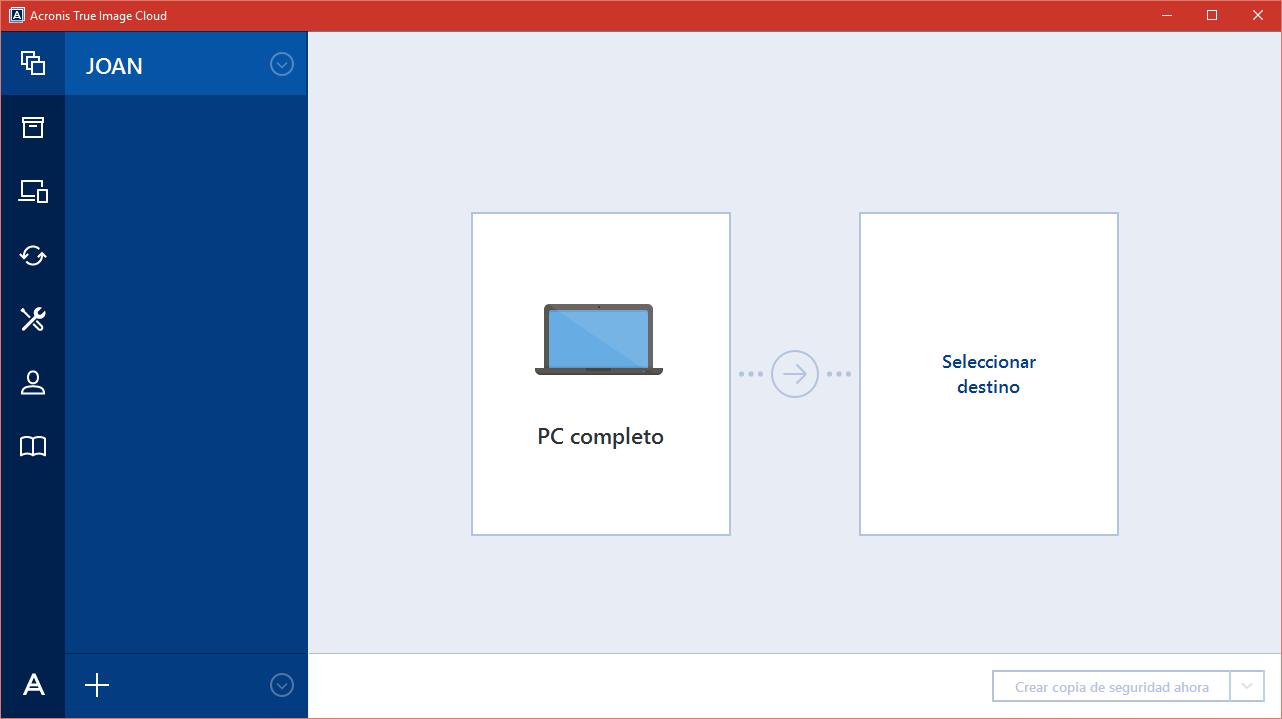 Mantén tus ficheros a salvo con Acronis True Image Cloud